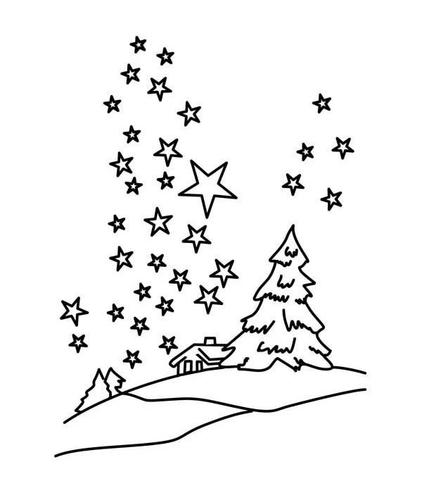 night sky coloring pages - stars in the sky coloring pages