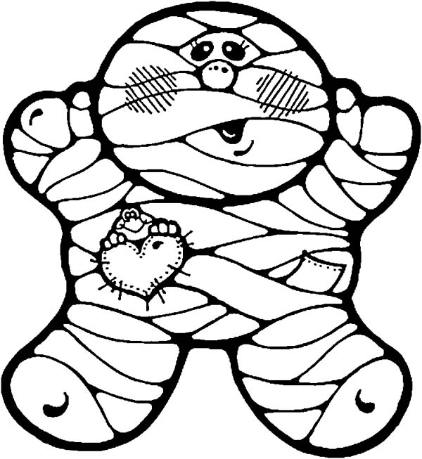 Fatty Mummy Coloring Page Download Print Online Coloring Pages
