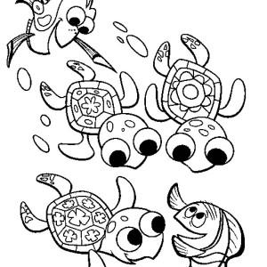 Sea Turtle Migration Free Coloring Page Sea Turtle Migration Free