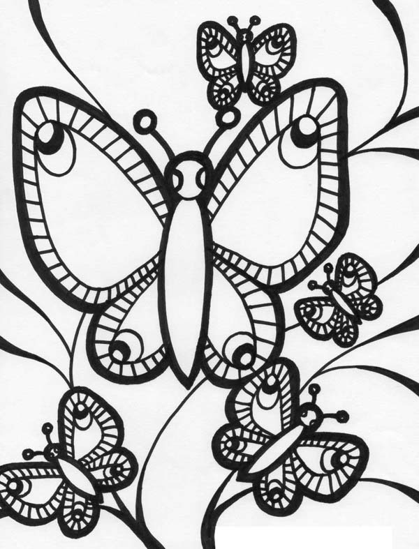 graphical coloring pages - photo#8