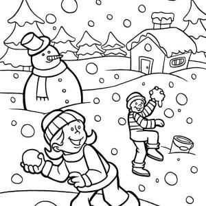 Kindergarten Coloring Page #6