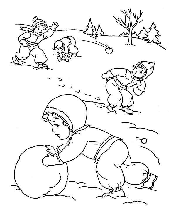 Kids Outdoor Activities on Winter