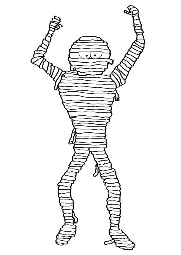 Skinny Mummy funny Coloring Page: Skinny Mummy funny Coloring Page ...