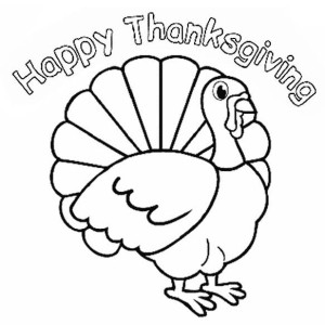 Thanksgiving Day Turkey Trot Cincinnati Coloring Page