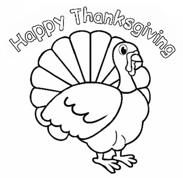 thanksgiving day turkey trot cincinnati coloring page - Free Thanksgiving Coloring Pages
