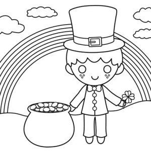 Download online coloring pages for free part 138 for St patrick s day rainbow coloring pages