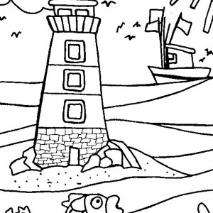 Color By Number Coloring Page 007