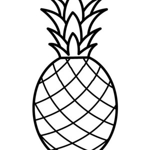 Pineapple Drawing For Kids A Pale Pernambuco PineapplePineapple Drawing For Kids