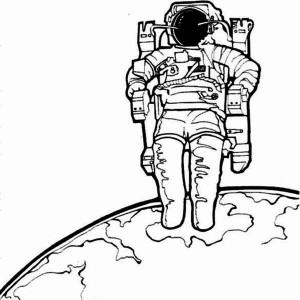 Creative Drawing Of Astronaut Page 4