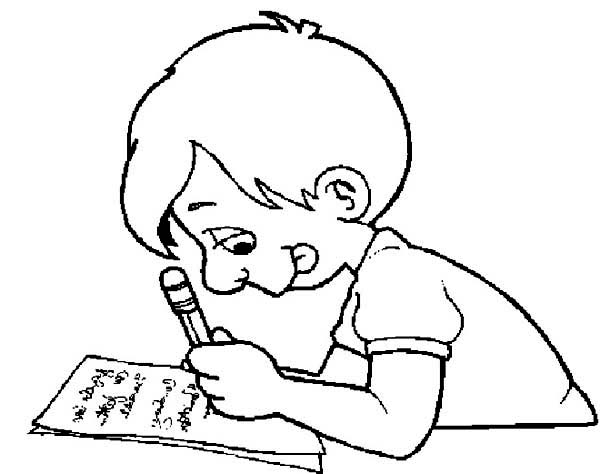 learn how to write on first day of school coloring page