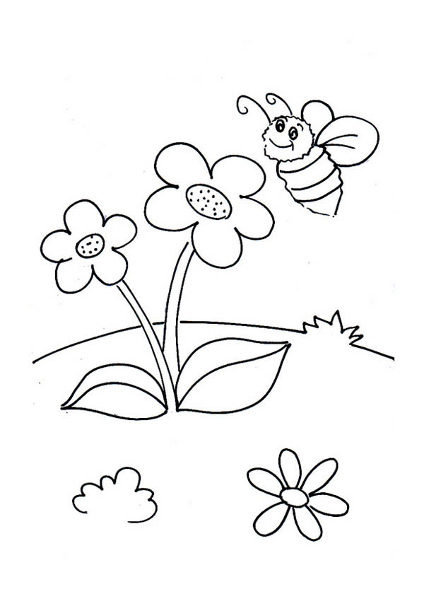 little flower coloring pages - photo#34