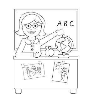 welcome to kindergarten on first day of school coloring page - First Day Of School Coloring Sheets For Kindergarten
