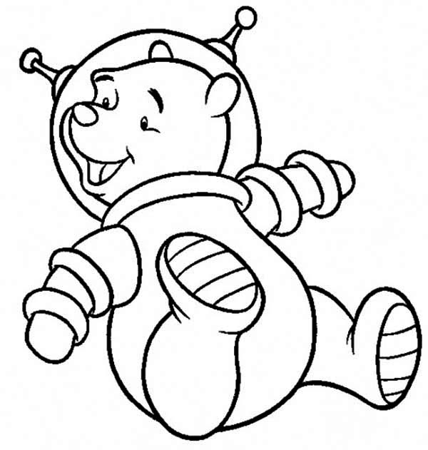 astronaut space suit coloring page  page 3