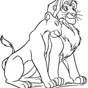 Simba likewise Lion King in addition Lion King together with L Is For Lion Coloring Page besides Kovu And Nala. on young simba and nala