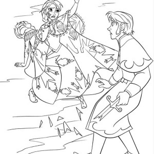 Edgar Savisaar colouring pages  page 2 Young Anna Frozen Coloring Page