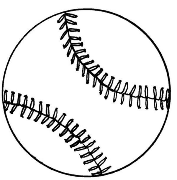 Baseball Coloring Page  Download  Print Online Coloring Pages