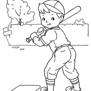 Baseball Bat And A Ball Coloring Page Baseball Bat And A Ball
