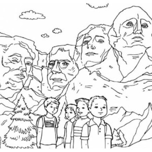 perfect lincoln memorial coloring page coloring coloring pages for kids with us presidents coloring pages