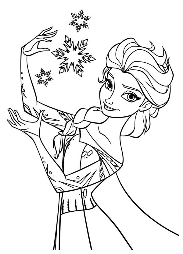 FREE 14+ Frozen Coloring Pages in AI | PDF | 834x600