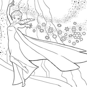Anna And Kristoff In Arguing With Elsa Coloring Page Anna And