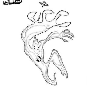 Goop from Ben 10 Alien Force Coloring Page