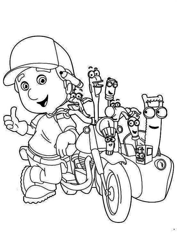 Handy Manny Coloring Page - Download & Print Online Coloring Pages ...
