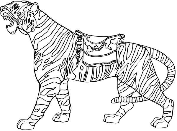 Lets Ride The Tiger Coloring Page Lets Ride The Tiger
