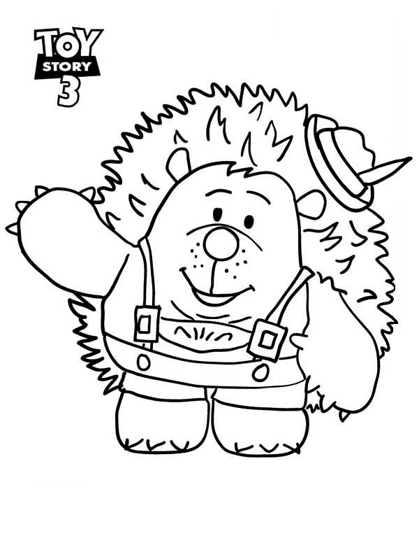 meet mr pricklepants in toy story 3 coloring page - 3 Coloring Page
