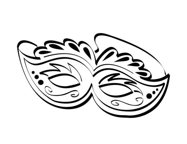 mardi gras ornamentic mardi gras mask for the festival coloring page ornamentic mardi gras - Mardi Gras Coloring Pages