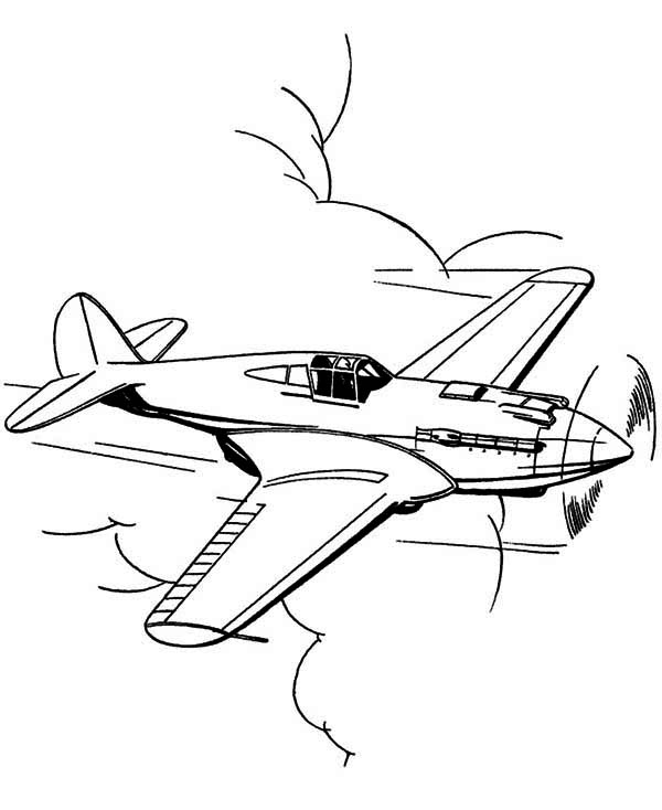 p 51 cockpit coloring pages - photo #4