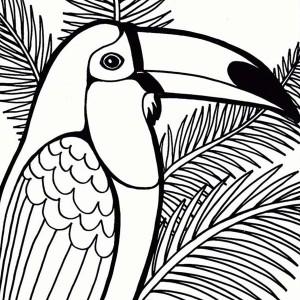 Cute parrot coloring page cute parrot coloring page for Cute parrot coloring pages