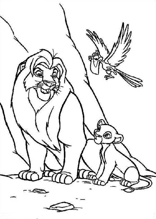 Wonderful Color By Number Books Thin Giant Coloring Books Rectangular Cool Coloring Books Curious George Coloring Book Young Vintage Coloring Books RedMunsell Color Book Simba, Mufasa And Zazu The Lion King Coloring Page   Download ..