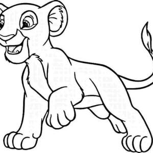 Simba Sleep Coloring Page Simba Sleep Coloring Page  Color Nimbus