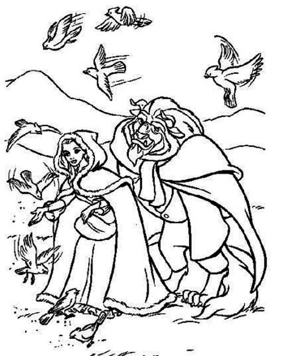bird watching coloring pages - photo#47