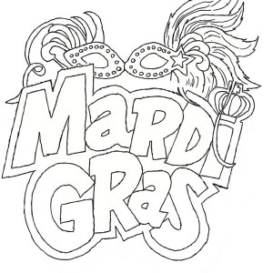mardi gras mask coloring pages - an art painting mask for mardi gras coloring page an art