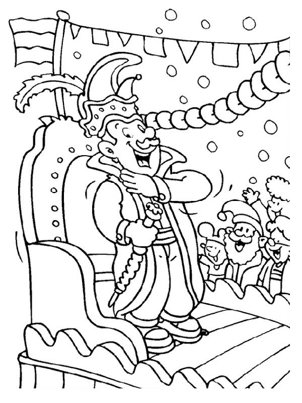 parade coloring pages - photo#37