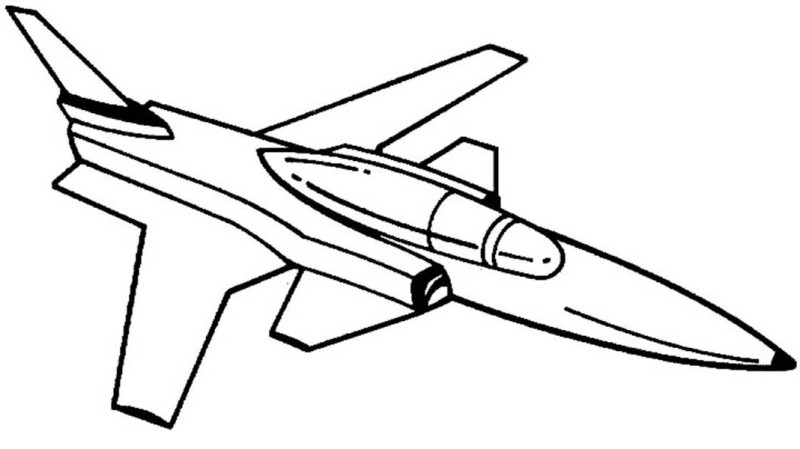 fighter jets coloring pages - photo#22