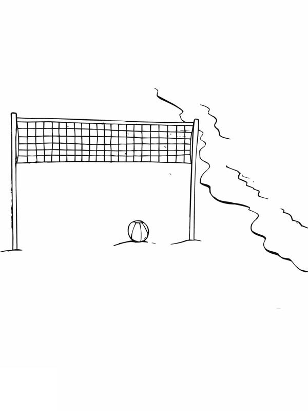 Volleyball, : beach-volley-ball-waiting-for-players-coloring-page.jpg