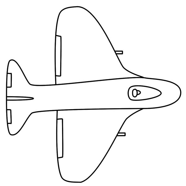 southwest airplane coloring pages - photo#2