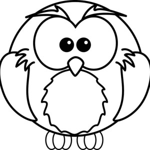 draw an owl and coloring for kids