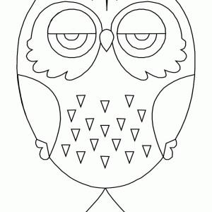 owl mandala for kids