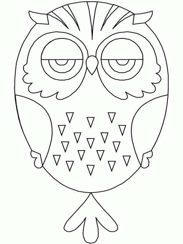 owl mandala for kids - Download & Print Online Coloring Pages for ...
