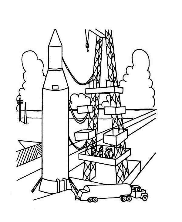 saturn v coloring pages - photo#22