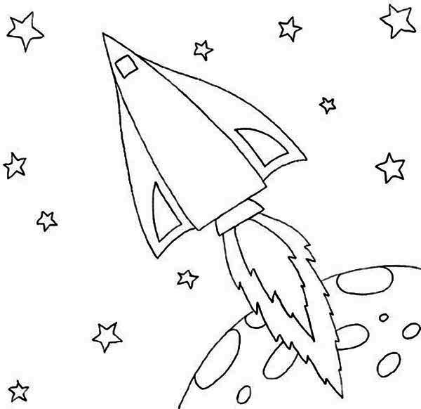 rocket coloring pages and book uniquecoloringpages