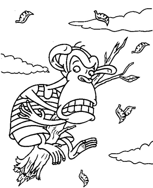 thornberrys monkey coloring pages printable - Download & Print ...