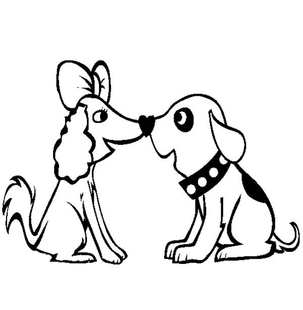 very cute dog coloring pages - photo#9