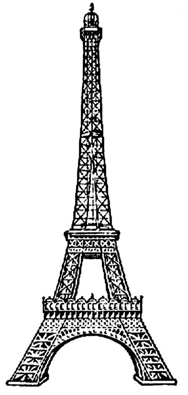 Magic image intended for printable eiffel tower