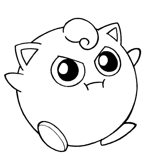 jigglypuff coloring page amazing pokemon jigglypuff coloring page download