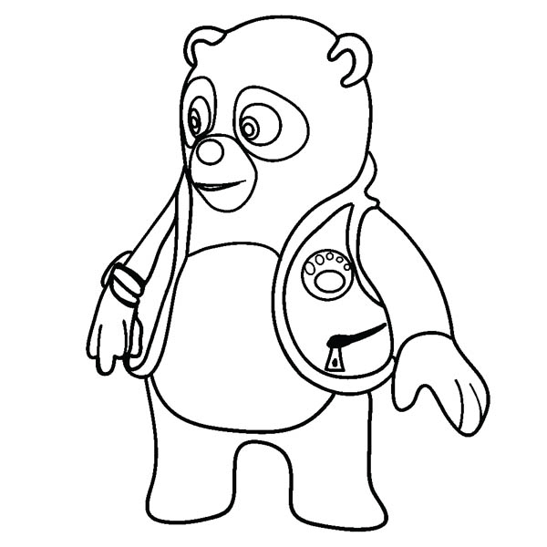 Special coloring pages ~ Amazing Special Agent Oso Coloring Page: Amazing Special ...