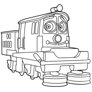 awesome calley of chuggington coloring page - Chuggington Wilson Coloring Pages